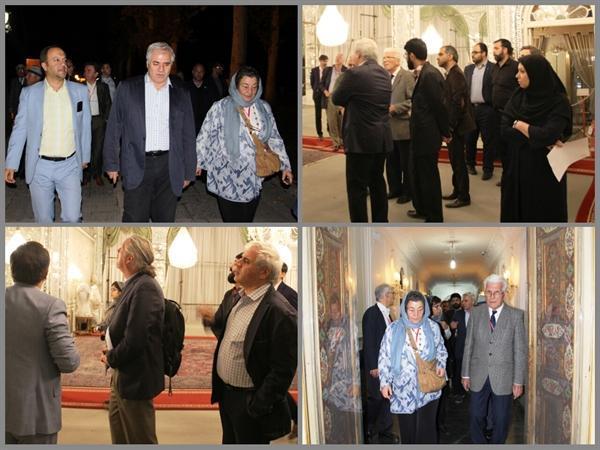 اعضای ایسکارسا از کاخ صاحبقرانیه بازدید کردند