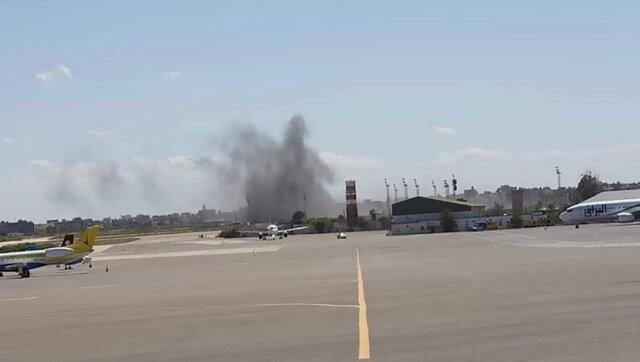 ارتش حفتر دوباره فرودگاه زواره را هدف قرار داد