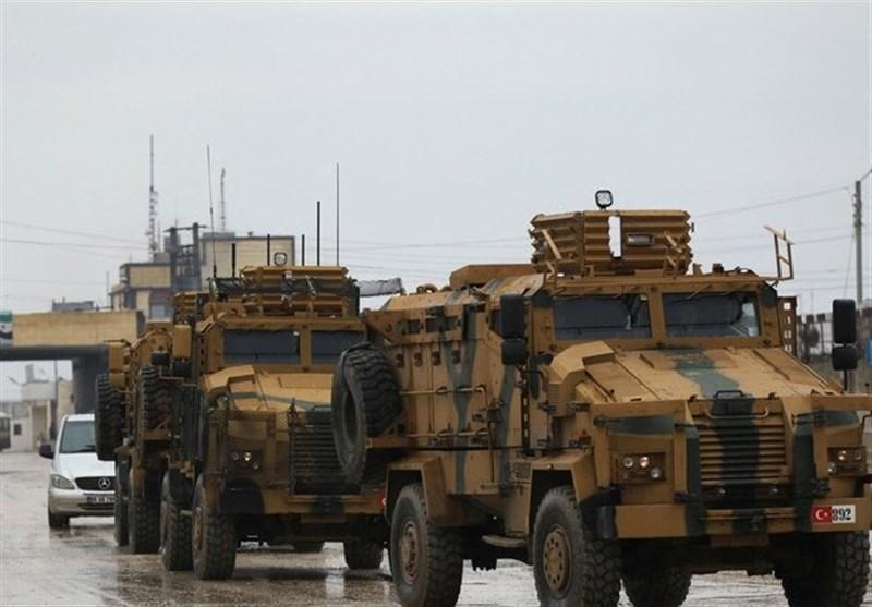 اعتراف آنکارا به هدف قرار دریافت کاروان نظامی ترکیه در سوریه