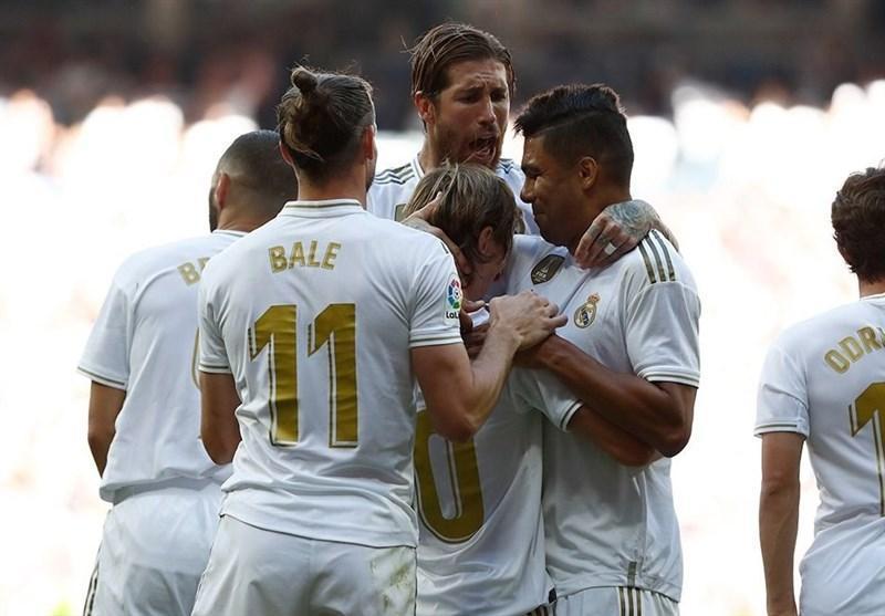 لالیگا، رئال مادرید با اولین گل فصل ازار، صدرنشین ماند